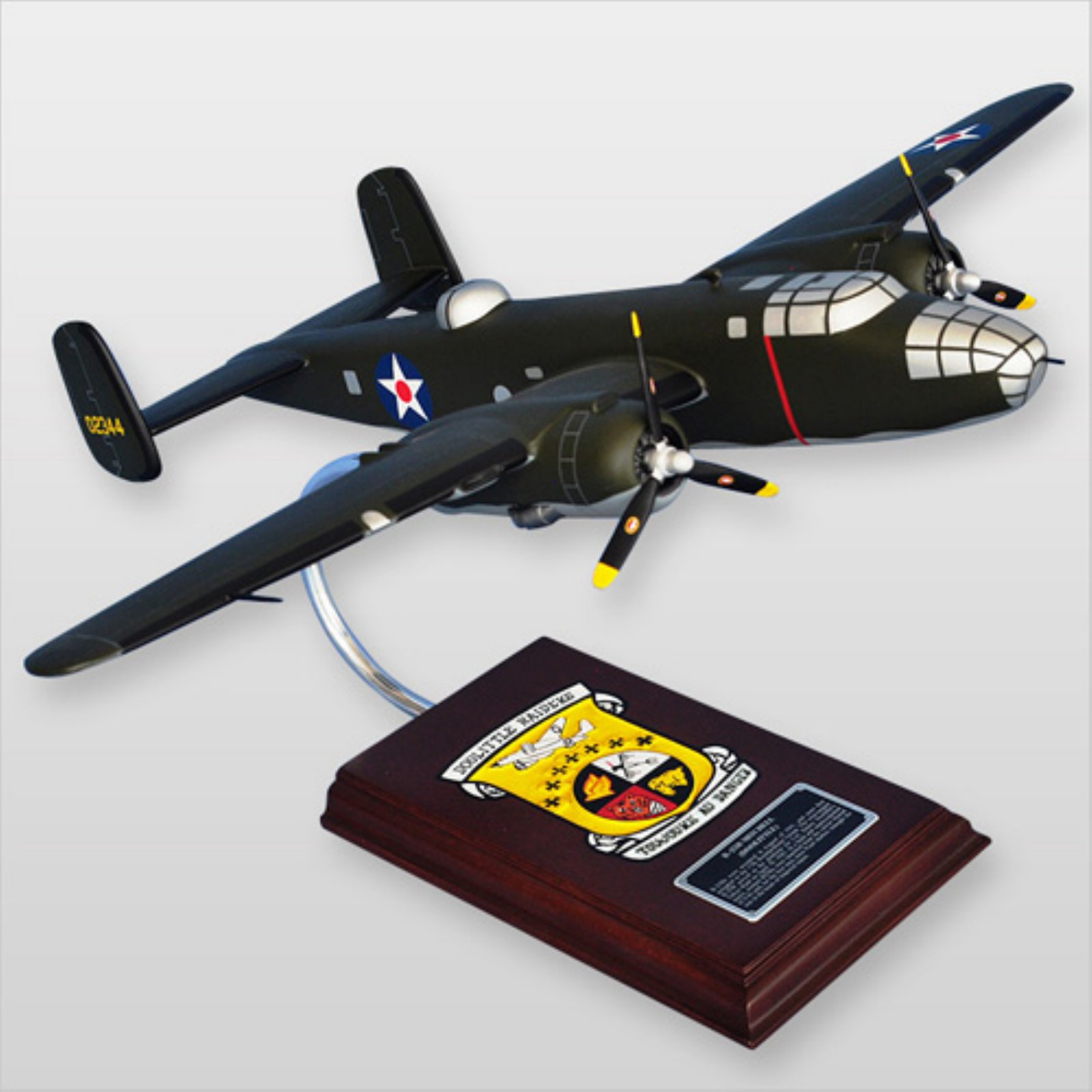 MasterCraft B-25B Mitchell Doolittle Raiders Model Plane