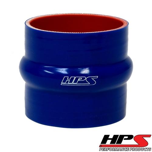 "HPS High Temp 7/8"" ID x 6"" Long 4-ply Reinforced Silicone Hump Coupler Hose Black (22mm ID x 152mm Length)"