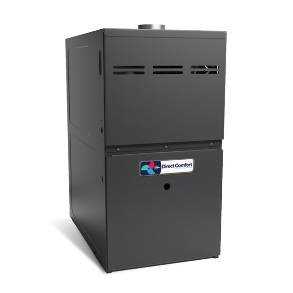 "HVAC Direct Comfort by Goodman DC-GME Series Gas Furnace - 80% AFUE - 60K BTU - 2 Stage - Upflow/Horizontal - 17-1/2"" Cabinet"