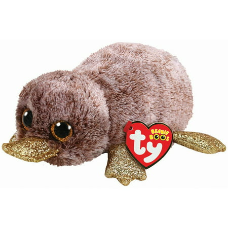 TY Beanie Boos - PERRY the Platypus (Glitter Eyes) (Regular Size - 6