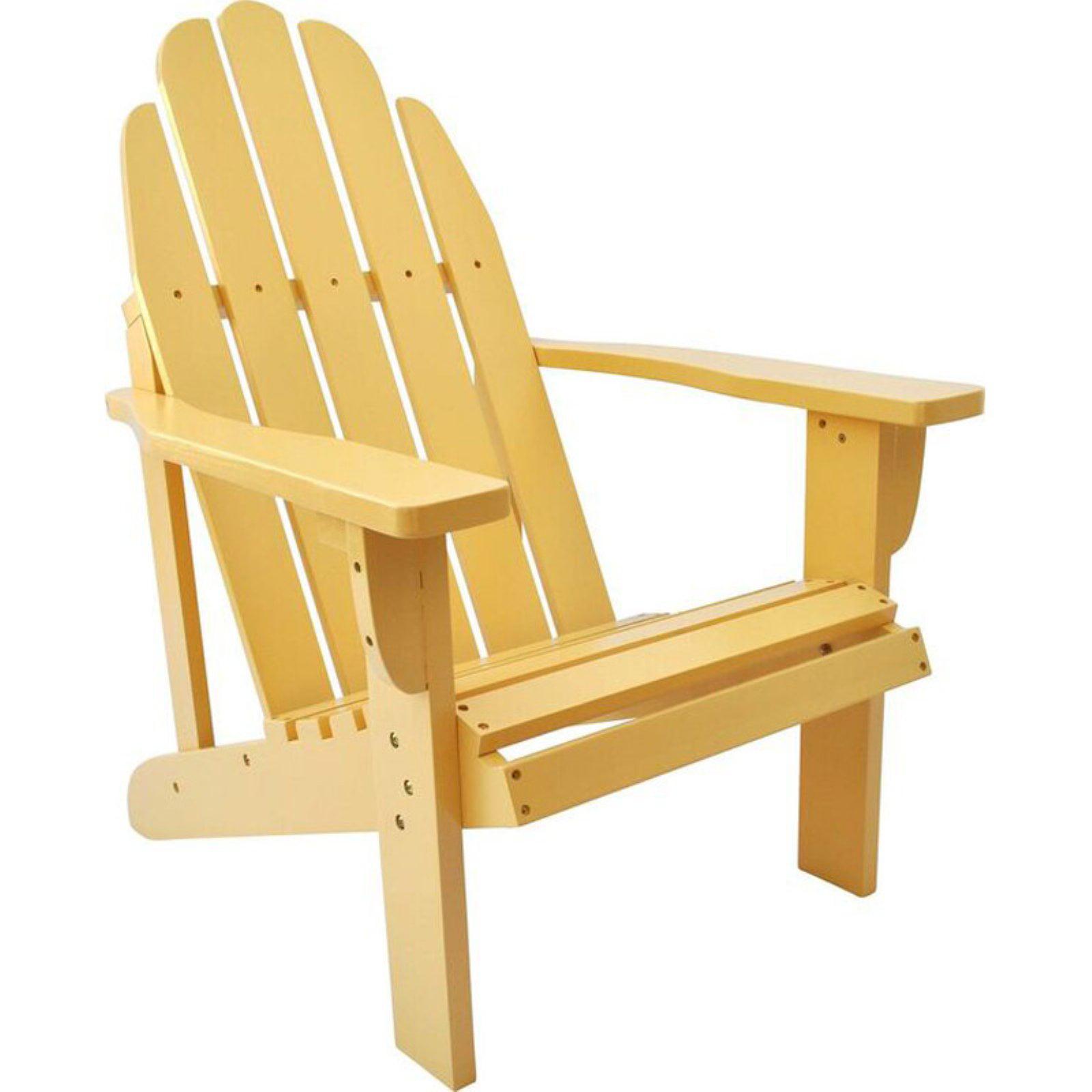 Shine Company Catalina Adirondack Chair - Bee's Wax