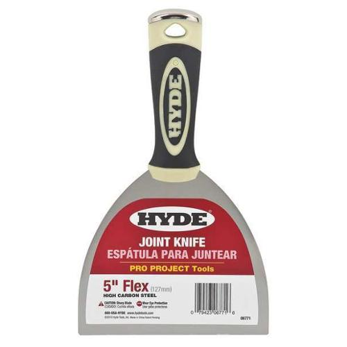 "Hyde 4-1/2""L, 8"", Joint Knife, Black/Cream, 06771"