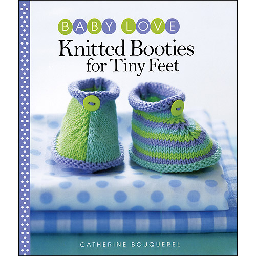 Sixth & Springs Books Knitted Booties For Tiny Feet