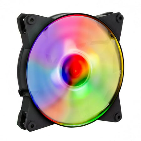 Cooler Master MasterFan Pro 140 Air Flow RGB- 140mm High Air Flow RGB Case Fan, Computer Cases CPU Coolers and Radiators (MFY-F4DN-08NPC-R1)