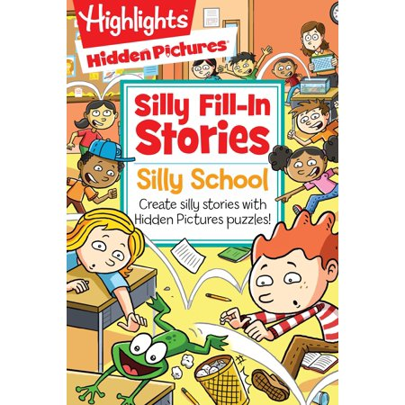 Silly School : Create silly stories with Hidden Pictures® puzzles! for $<!---->