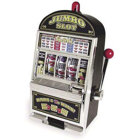 Jumbo Slot Machine Vegas Style Coin Savings Bank
