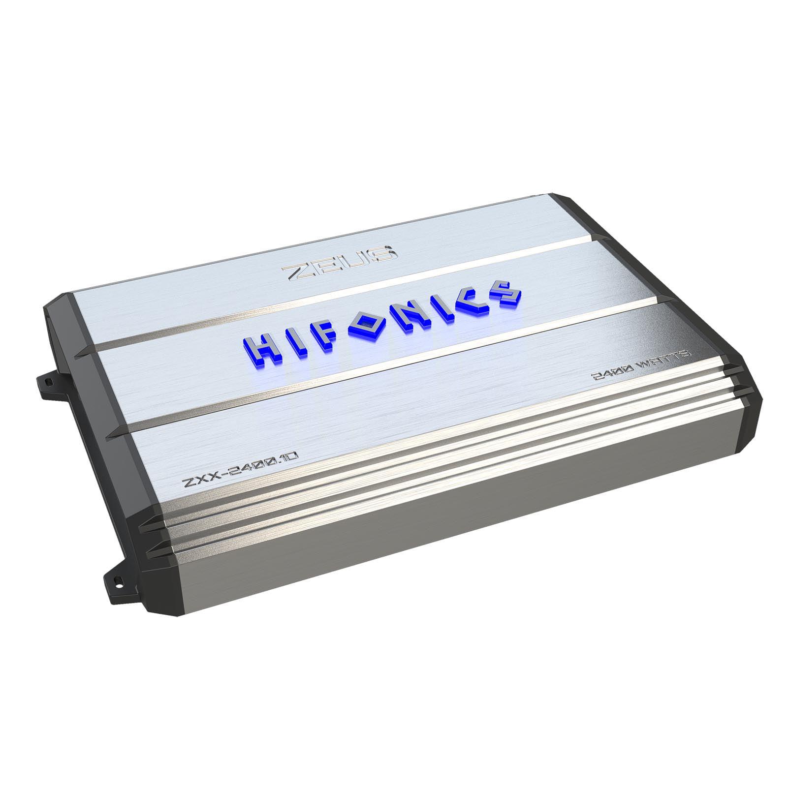 Hifonics ZXX-2400.1D Zeus Series Monoblock Class D Amp (2,400 Watts)