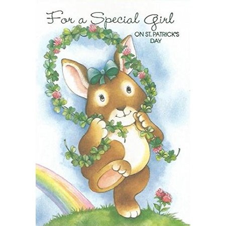 For a Special Girl On St Patrick's Day (SP), Cover: For a Special Girl On St Patrick's Day By Image Arts Ship from