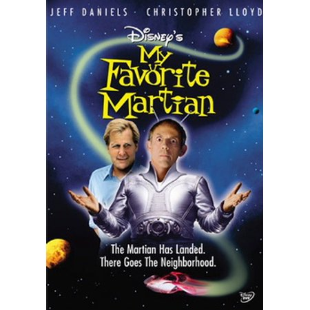 My Favorite Martian (DVD) (Martian Monster)