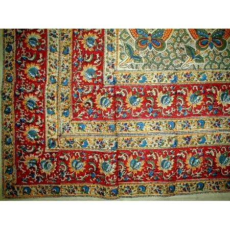 Jaipur Green - Dabu Jaipur Tapestry Cotton Spread 102