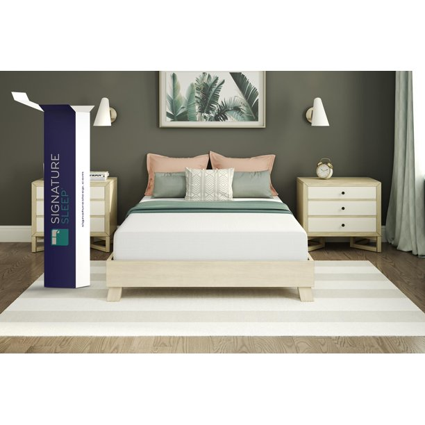 "Signature Sleep Gold CertiPUR-US Inspire 12"" Memory Foam Mattress, Multiple sizes - Full"