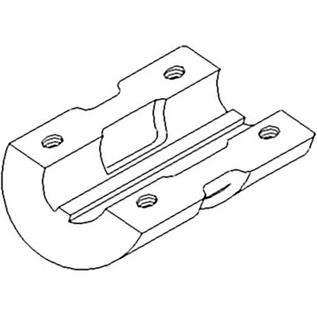 6326DC New Rear Wheel Clamp Made for Case-IH Harvester