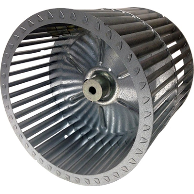 Lau Double Inlet Blower Wheel 9 1/2 In Dia 1/2 Bore Cw DD 9-9A By Revcor