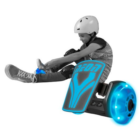 Yvolution Kids' Neon Street Rollers Heel Wheels - Blue