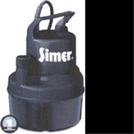 Pentair Water 11652 Simer Utility Pump - 0.17 Hp - image 1 of 1