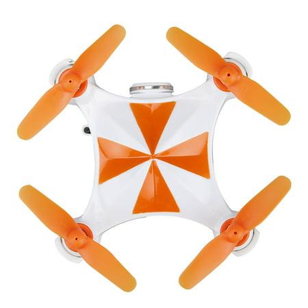 Virhuck V-3 Mini FPV Drone with Camera, 2.4GHz Wifi Quadcopter with Live Video, Optical Flow Sensor | Dance Programming | Selfie/Trajectory Mode | Altitude Hold | 3D Flips, Orange