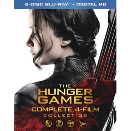 The Hunger Games: The Complete 4-Film Collection (Blu-ray) - Halloween 4 Film Complet