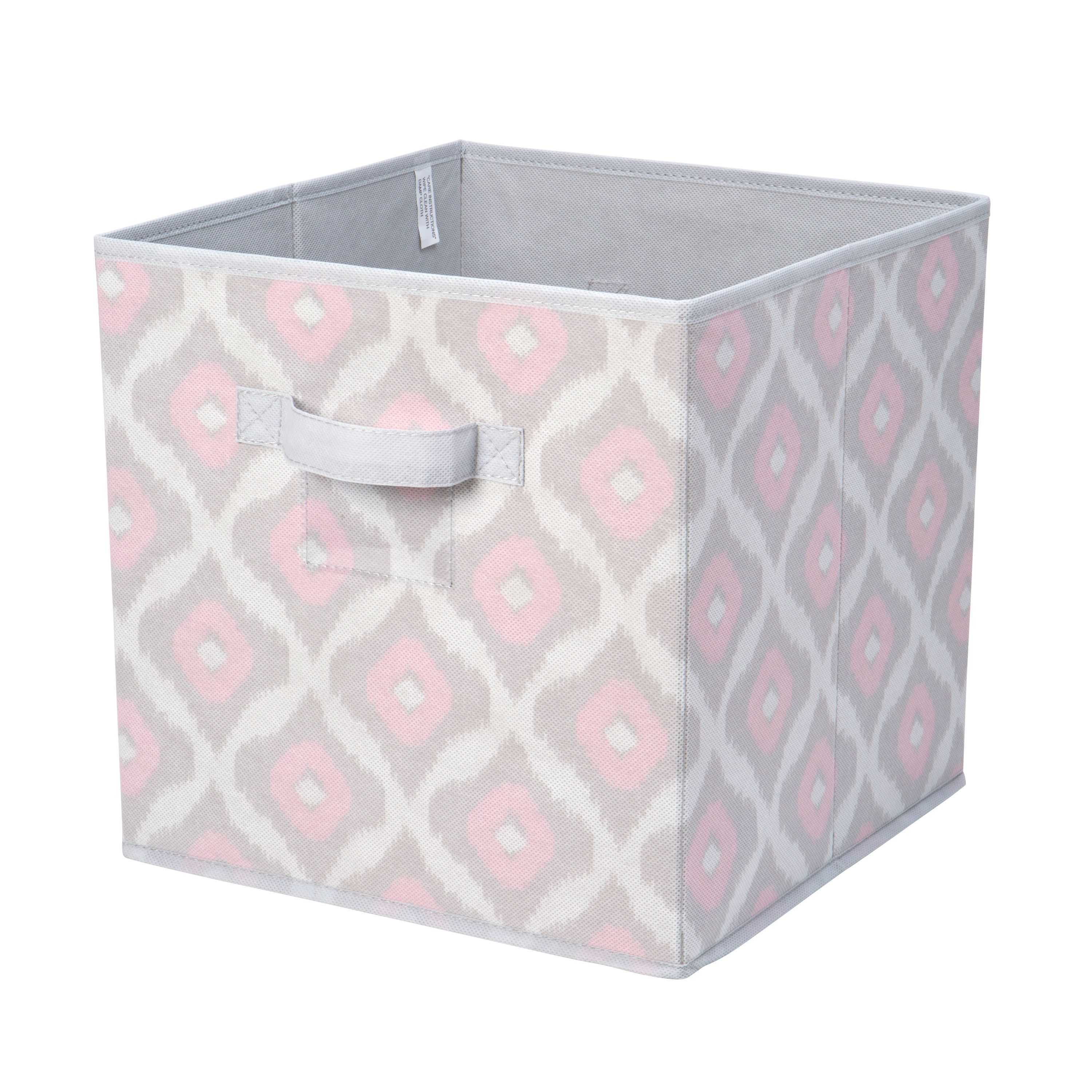 Candie Couture By Macbeth Collection STORAGE BOX CUBE 12X12   IKAT