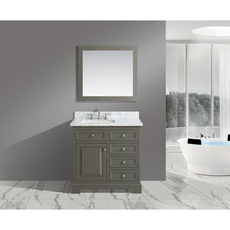 urban furnishing rochelle 36 in single bathroom vanity set with