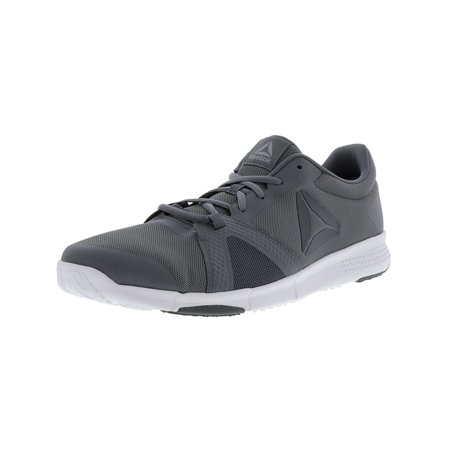 Men's Flexile Alloy / White Flint Grey Ankle-High Training Shoes -