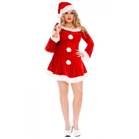 Sleigh Hottie Adult Costume - Plus Size 3X/4X](Halloween Hottie)