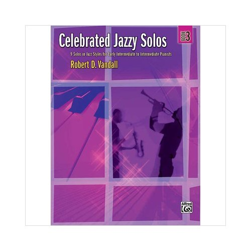 Alfred 00-32786 Celebrated Jazzy Solos- Book 3 - Music Book