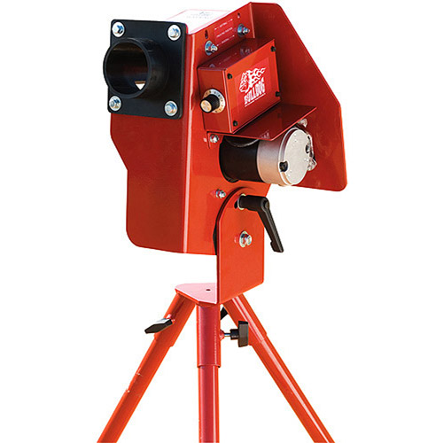 Bulldog Single Wheel Baseball Softball Combo Pitching Machine by Generic