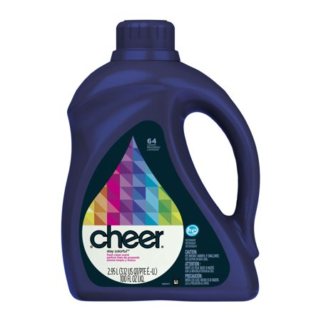 Cheer He Liquid Laundry Detergent 100oz 64 Loads