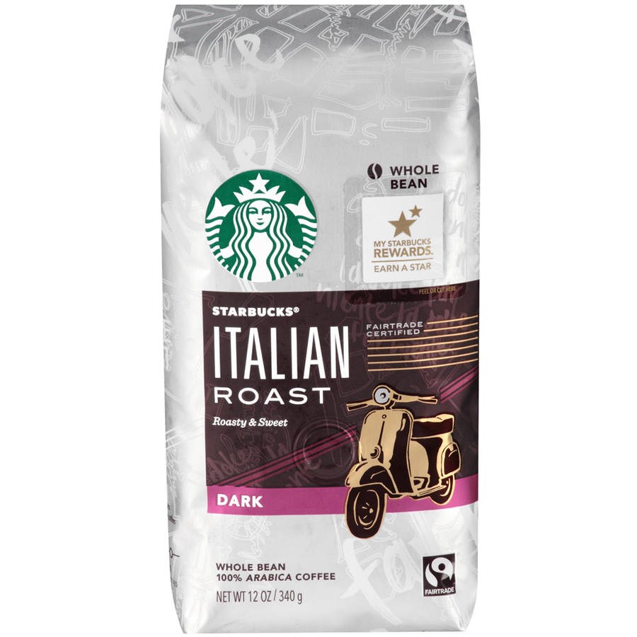 Starbucks�� Italian Roast Dark Whole Bean Coffee 12 oz. Bag