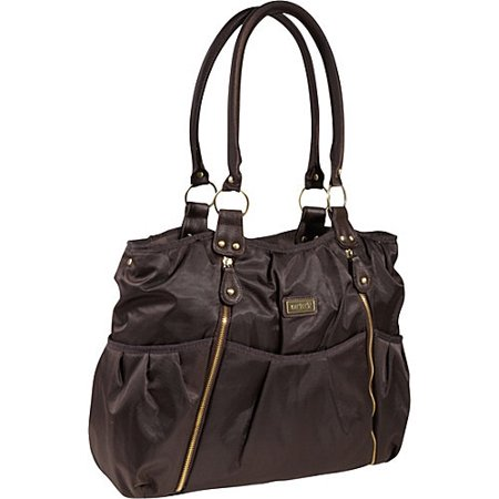 carter 39 s zip front fashion tote diaper bag. Black Bedroom Furniture Sets. Home Design Ideas