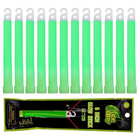 Wealers 12 Pack SnapLight Light Sticks - 6