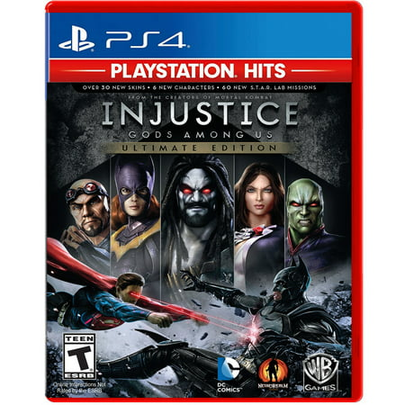 PlayStation Hits - Injustice: Gods Among Us Ultimate Edition, Warner Bros, PlayStation 4, - Warner Bros Publications