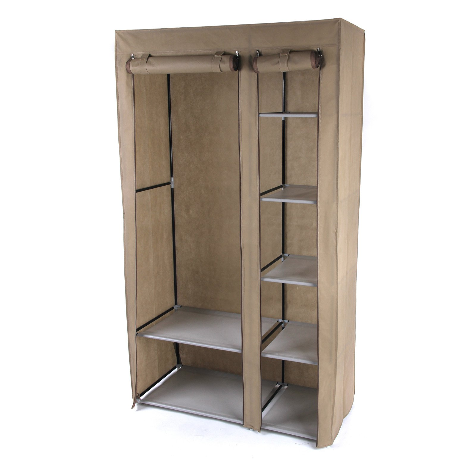 Gold Sparrow 3.2 ft. Portable Storage Wardrobe