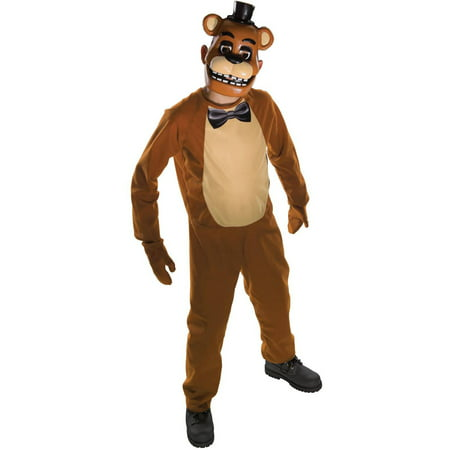 Boy's Freddy Halloween Costume - Five Nights at (5 Night At Freddy's 4 Halloween)