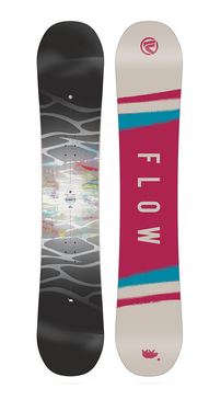 Flow Silhouette Snowboard Women's (9823) by Flow USA