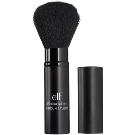 Bobbi Brown Retractable Lip Brush - e.l.f. Retractable Kabuki Brush, 1.0 CT