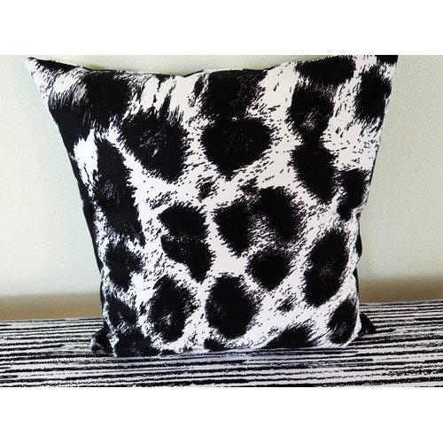 Arthouse Innovations Cheetah Skin Throw Pillow