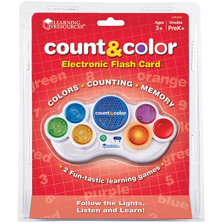 Learning Resources Count & Color Electronic Flash -