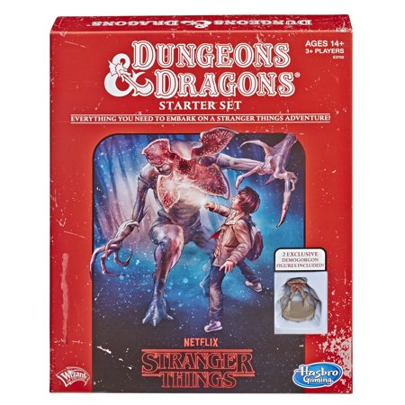 Netflix Stranger Things Dungeons & Dragons Roleplaying Game Starter Set