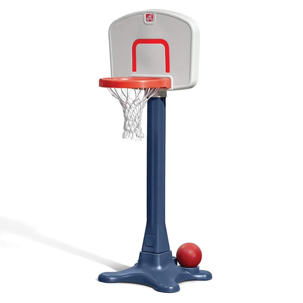 Step2 Shootin' Hoops 42-inch Basketball Set Kids Portable Basketball Hoop For Toddlers by Step2