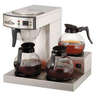 - Coffee Pro Three-Burner Low Profile Institutional Coffee Maker (OGFCPRLG)