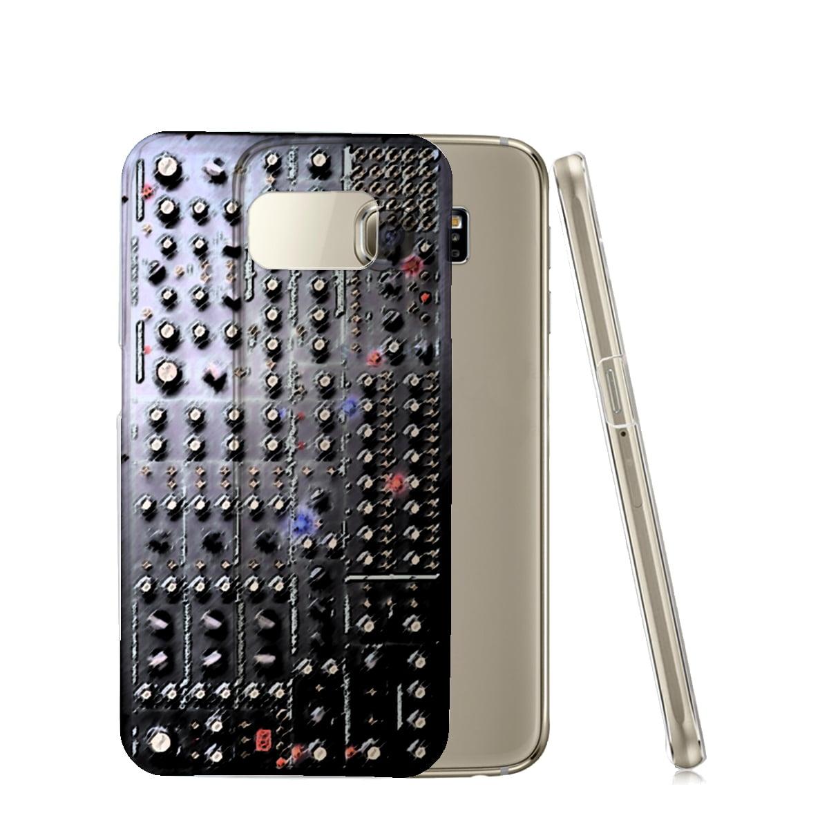 KuzmarK™ Samsung Galaxy S6 Edge Clear Cover Case - Analog Synthesizer