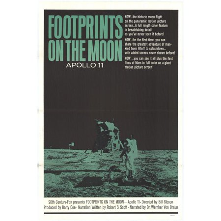 Footprints on the Moon: Apollo 11 - movie POSTER (Style A) (27