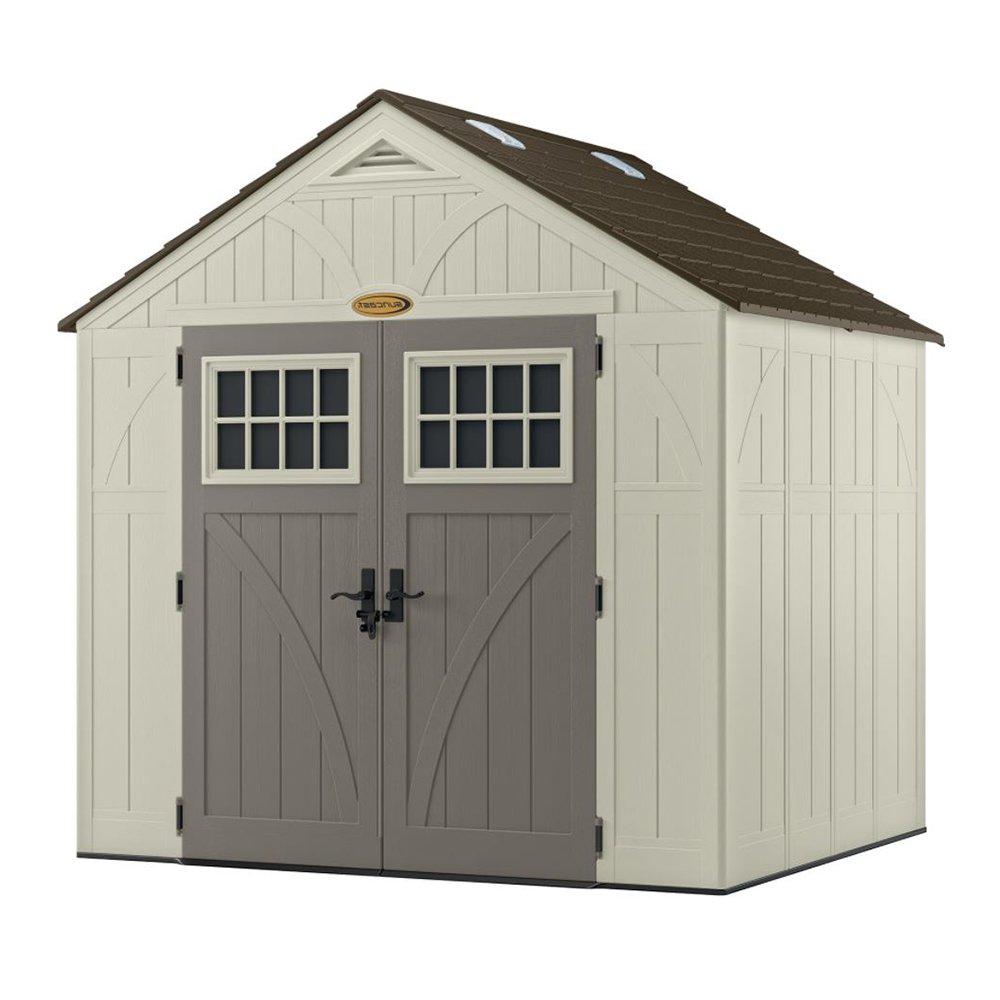 suncast 8 x 7 tremont storage shed - Garden Sheds Eugene Oregon