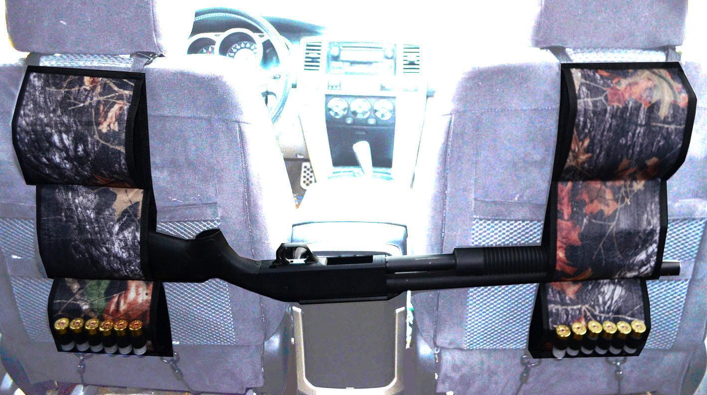 Back Seat Gun Holder Shotgun Truck Rack Vehicle Rack Car Hunting Rifle OAK by