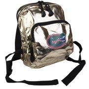 Officially Licensed NCAA Spotlight Metallic Mini Backpack - Gold Florida