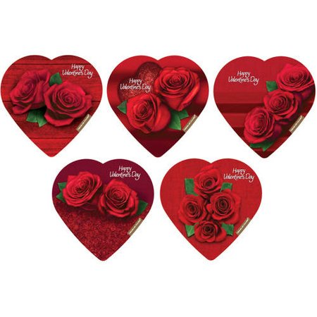 Elmer Chocolate Varying Design Rose Assorted Chocolates, 2