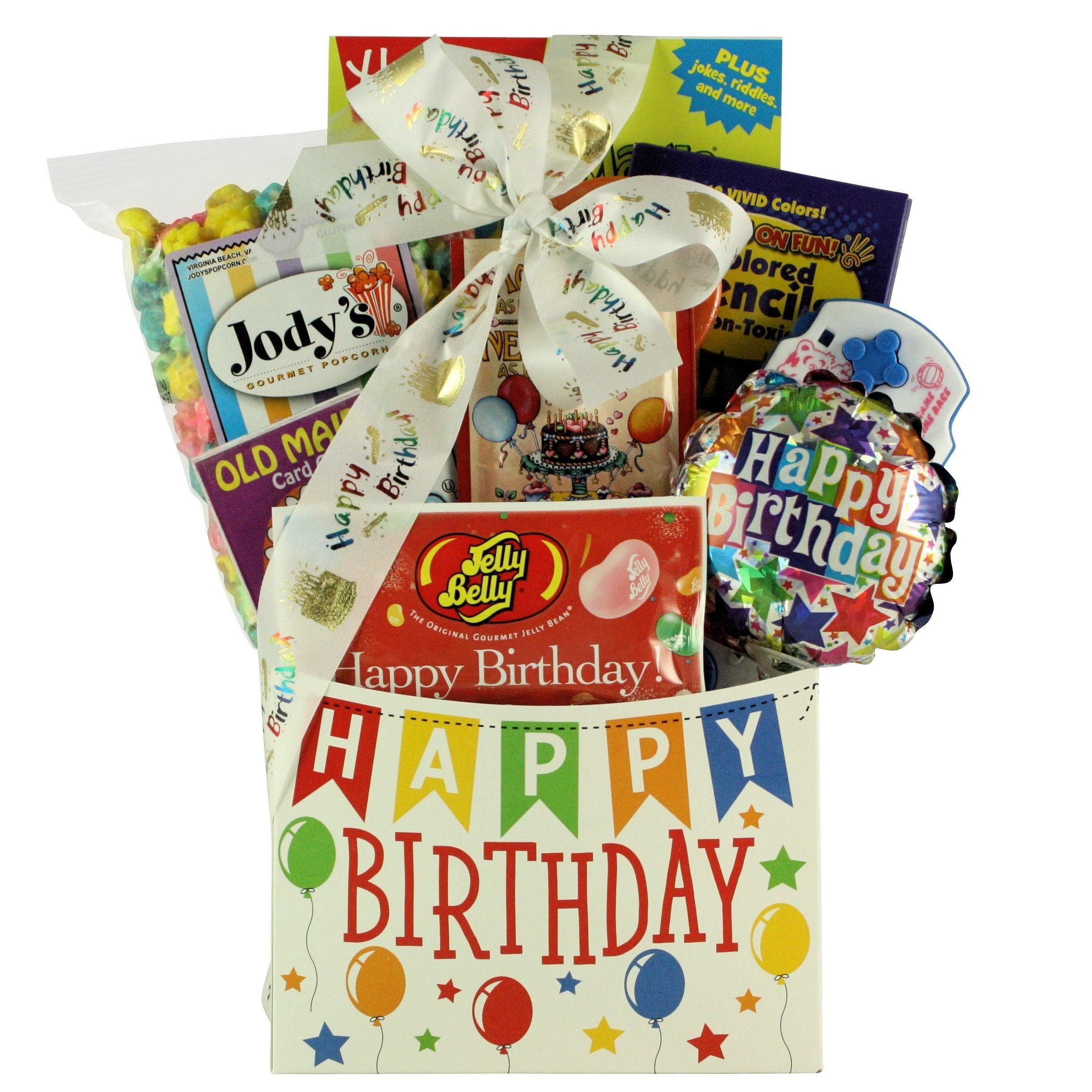 Great Arrivals Gift Baskets Happy Birthday Wishes Kids Basket