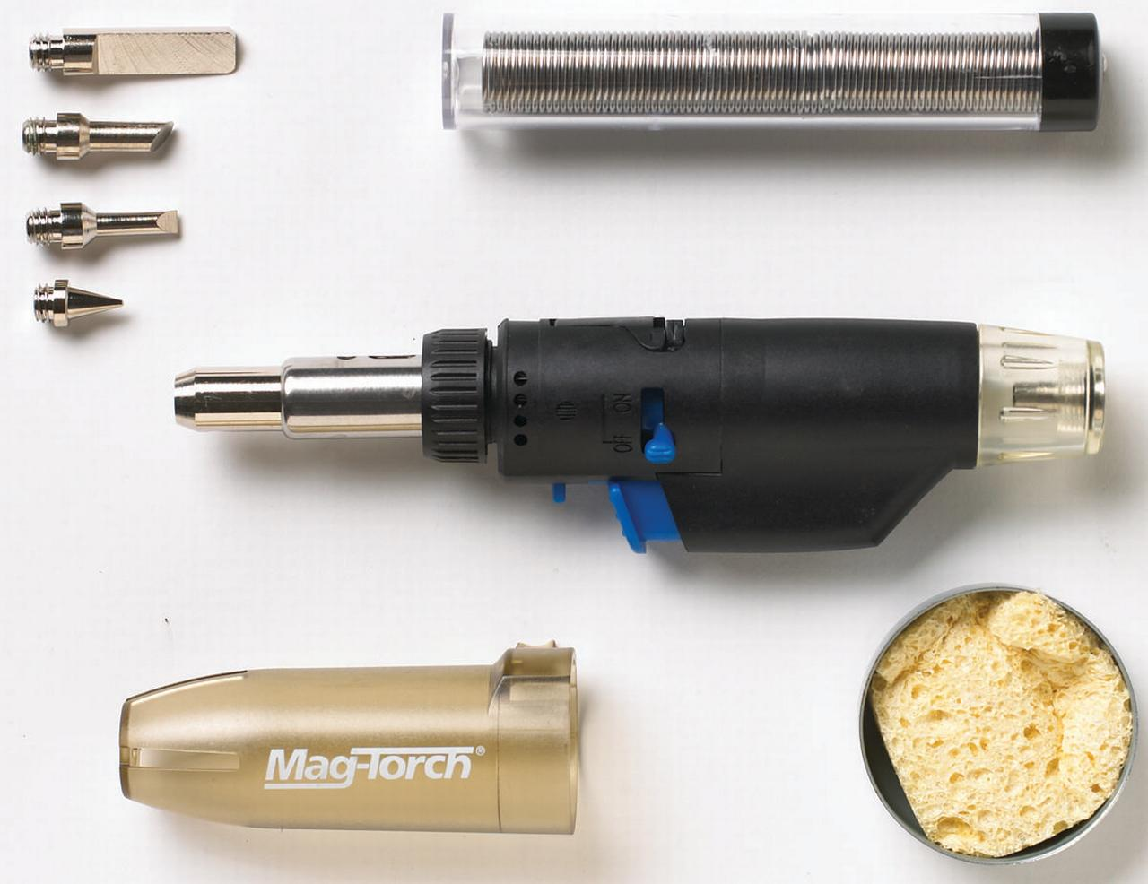 Mag-Torch MT 775 C 3-In-1 Micro Torch Kit With Case, Butane Fuel by Magna Industries, Inc.