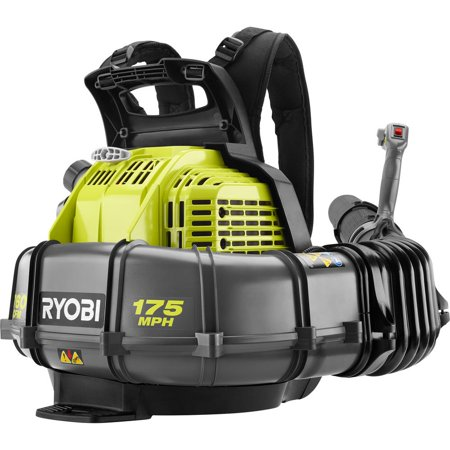 Ryobi 175 MPH 760 CFM 38cc 2-Cycle Gas Backpack Leaf Blower with Variable Speed Trigger (New Open